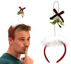 mistletoe headband mistletoe headband in silly gifts by one hundred 80 degrees