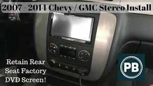 2007 2014 chevy gmc stereo install tahoe suburban yukon impala