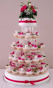 fairy cup cake wedding tower