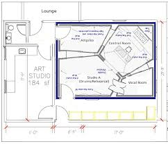 Garage Floor Plan Designer by Recording Studio Floor Plan Design Software Floor Decoration