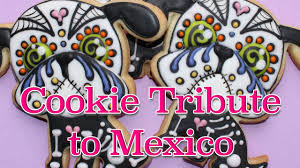 Dia De Los Muertos Halloween Decorations Day Of The Dead Cookies How To Make Dia De Los Muertos Cookie