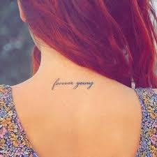forever neck idea http beautifultattooideas