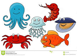 cartoon sea animals royalty free stock images image 36053399
