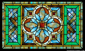 faux stained glass kitchen cabinets stained glass for kitchens