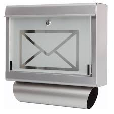 design edelstahl briefkasten edelstahl design briefkasten stand postkasten zeitungsfach