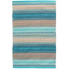 Turquoise And Gray Area Rug Dash And Albert Rugs Gypsy Blue Gray Area Rug U0026 Reviews Wayfair
