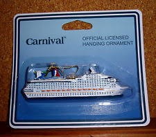 carnival cruise ship hanging ornament ebay