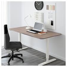 Seattle Corner Desk Bekant Desk Sit Stand Black Brown White Ikea