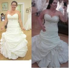 after wedding dress alterations before and after how was it weddingbee