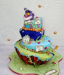 Mad Hatter Decorations Adventurous Alice In Wonderland Cakes Cakecentral Com
