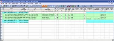 Bom Template Excel Importing Your Bom From Excel Visual Nuggets On Infor
