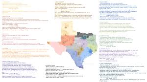 State Of Texas Map With Cities by Oc Lone State State The 12 Regions Of Texas 3840 X 2160 Mapporn