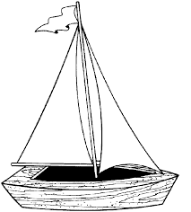 Boat Coloring Pages Sailboat Coloringstar