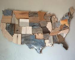 Reclaimed Wood Home Decor Barn Wood Wall Art Etsy