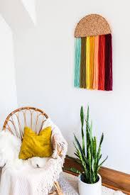 easy yarn wall art diy u2013 a beautiful mess