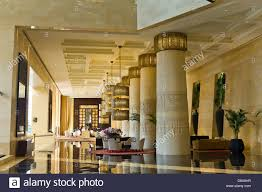 lobby of raffles dubai hotel egyptian themed hotel dubai united