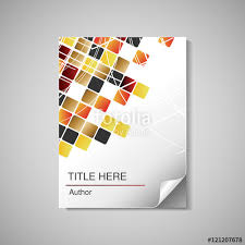 free book cover designs templates vector modern book cover brochure flyer design template for