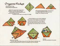 Pocket Origami - origami pocket playful bookbinding and paper works