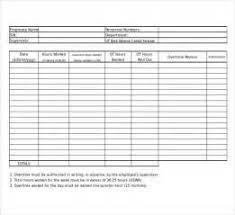 Resume Templates Tamu Free Printable Timesheet Templates Free Weekly Employee Time 6