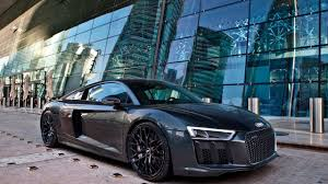 Audi R8 V10 Plus - blacked out 610hp 2017 audi r8 v10 plus in crazy locations youtube