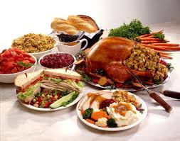 thanksgiving day menus best options for buffet style turkey dinner