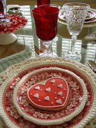 Valentine Party Table Decoration Ideas by Valentine U0027s Day Another Version Of The Monochromatic Setting