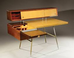 bureau à gradin georges nelson bureau à gradin modèle home office en placage de