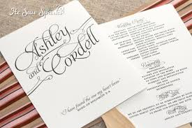 free printable wedding programs templates request a custom order