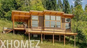 hillside home designs house hillside lake house plans