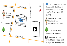 Beaverton Oregon Map by Holiday Market U0026 Beaverton Christmas Tree Lighting
