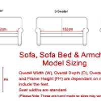 Standard Sofa Length by Standard Size Of 4 Seater Sofa Dynaboo Co