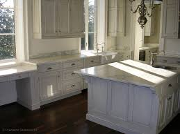 White Granite Kitchen Countertops by Blog Precision Stoneworks
