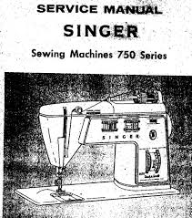 singer 700 series touch u0026 sew
