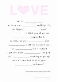 wedding mad libs template magnificent wedding mad libs template images documentation
