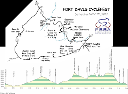 Route 40 Map by Cyclefest Tour U0026 Hill Climb