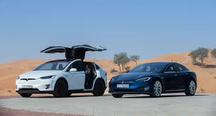 tesla model s tesla launches in the uae with the model s and model x