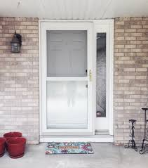 front door makeover refashionably late
