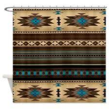 Southwest Shower Curtains Desert Horizon Southwest Shower Curtain Recreational Vehicles