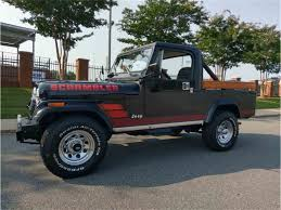 2017 jeep scrambler for sale 1983 jeep scrambler cj 8 for sale classiccars com cc 1022028