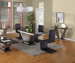 Round Dining Room Sets Friendly Atmosphere Granite Dining Table Brings Cool Styles Designoursign