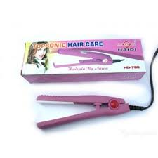 Catok Rambut Murah jual catokan rambut heidi catokan mini merk heidi pink murah
