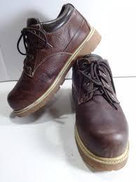 s lugz boots sale lugz mens 10m brown grainy leather boots drifter lo slip resistant