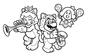 nintendo releases coloring book pages