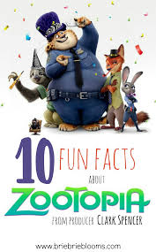 ten facts about thanksgiving 10 fun facts about zootopia from producer clark spencer brie