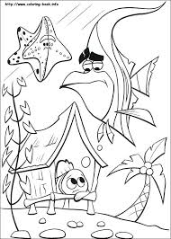 Finding Nemo Coloring Pages Online Index On Thaypiniphone Nemo Color Pages