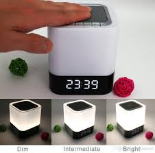 night light bluetooth speakers wamgra all in 1 touch sensor