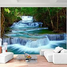 Schlafzimmer Fototapete Fototapete Wasserfall 352 X 250 Cm Vlies Wand Tapete Wohnzimmer