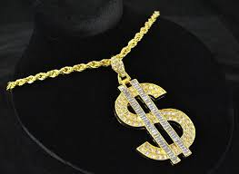 gold big chain necklace images Gold dollar sign chain necklace big daddy costumes wigs theater jpeg