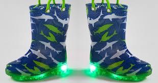 light up rain boots zulily fun kids light up rain boots only 9 99 regularly 40