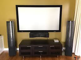 high end home theatre system with martin logan surround speakers